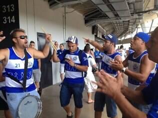 Torcedores estão animados com o retorno do Cruzeiro à Libertadores