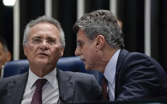 Renan Calheiros e Romero Jucá, ambos do MDB, tiveram inquérito arquivado na Operação Zelotes a pedido da PGR