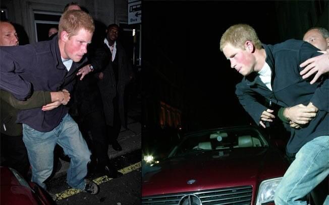 Confusão na boate: Harry foi acusado de agredir um fotógrafo