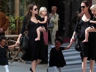 Angelina quer mais dois filhos