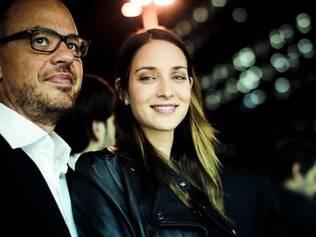Patrícia Barros e o namorado, Marcos Campos: