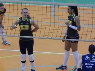Valquíria, atleta minastenista, está com a seleção brasileira no Chile