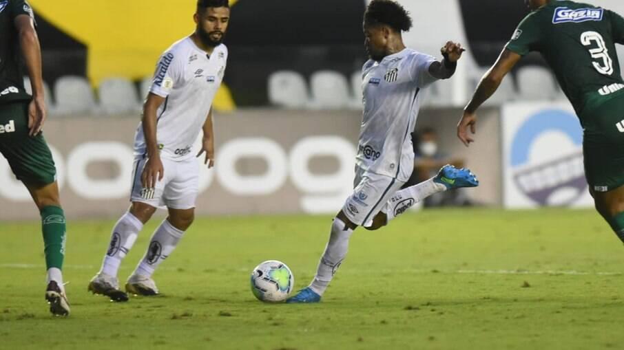 Santos foi surpreendido em casa pelo Goiás