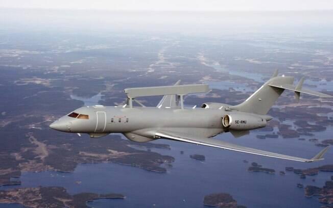 Emirados rabes Unidos encomendam mais duas aeronaves Saab GlobalEye
