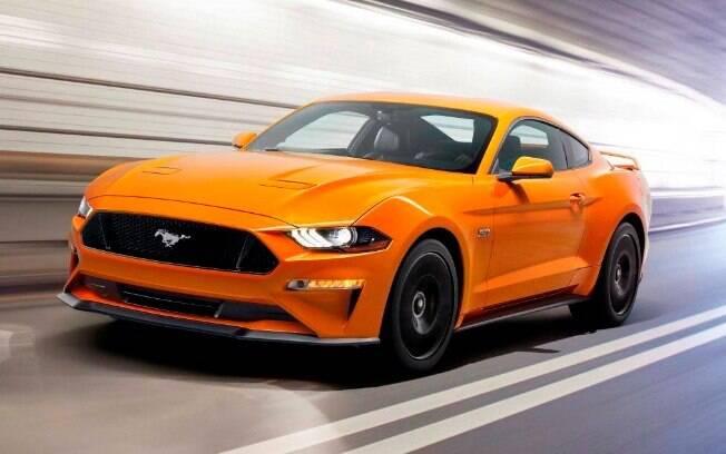 """Ford Mustang: o primeiro """"pony car"""" dos anos 1960 hoje é um """"muscle car""""de 466 cavalos de potência."""