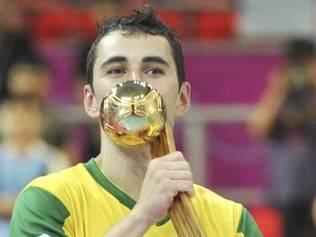 Neto foi o destaque da seleção brasileira de futsal no Mundial da Tailândia, em 2012