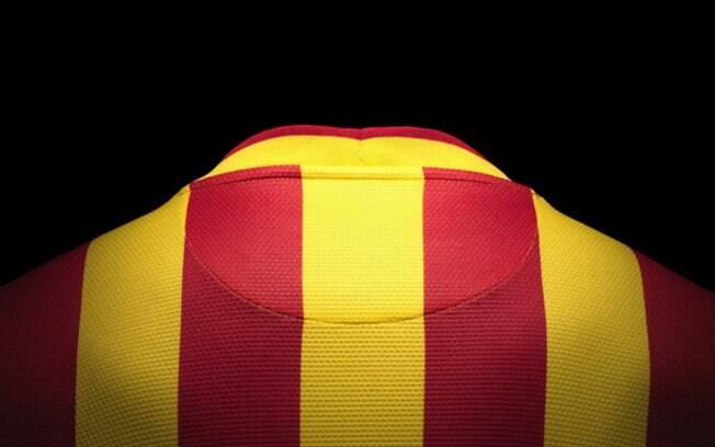 Nova camisa do Barcelona para temporada  2013-2014