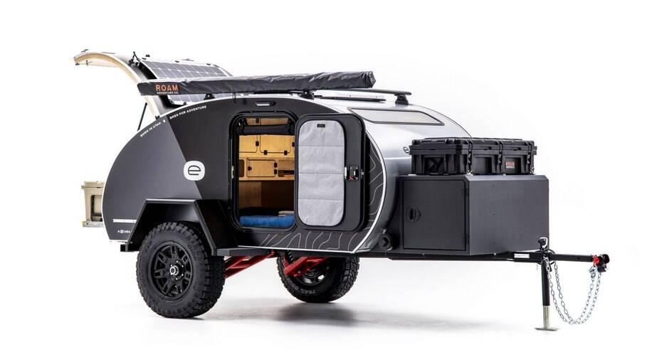 Escapod Topo: solução prática e com custo relativamente baixo  para acampar com certo conforto