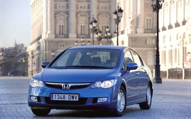 Honda Civic Hybrid: nunca o Brasil teve uma versão híbrida do sedã, como a que foi lançada na oitava geração