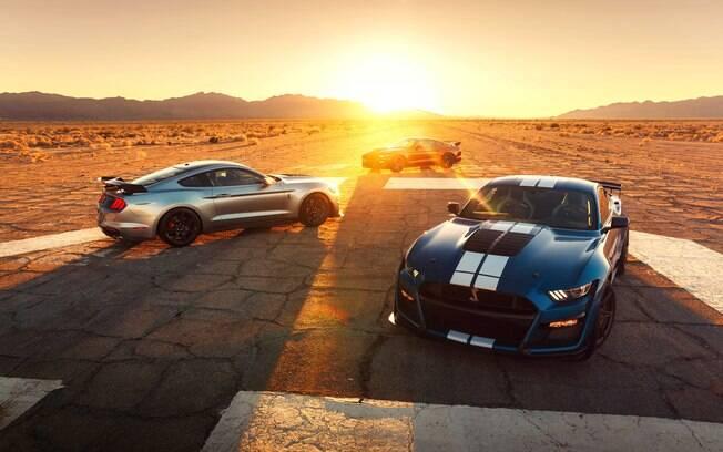 Ford Mustang Shelby GT500 rouba a cena durante o Salão de Detroit 2019 (EUA)