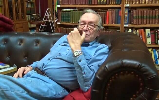 Ensaísta e filósofo Olavo de Carvalho é guru intelectual do governo Jair Bolsonaro