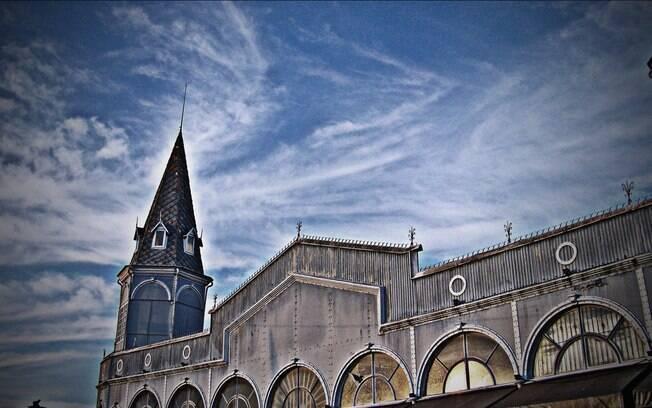 Ver-o-Peso contra o céu de Belém: o mercado domina a paisagem da capital
