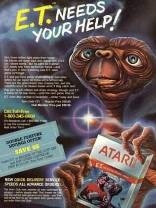 Jogo para Atari impulsionou a maior campanha publicitária da indústria até aquele momento