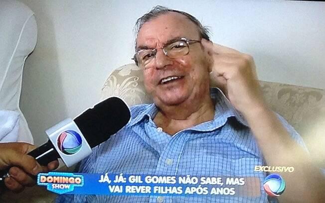 Gil Gomes falou em entrevista sobre vício em jogos, morte do filho e carreira na televisão