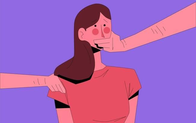 ilustração de mulher