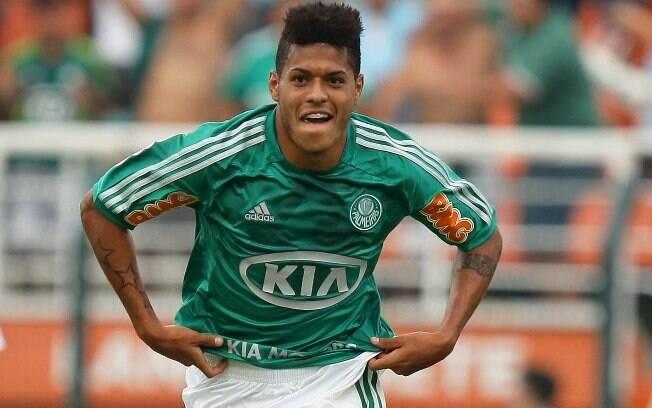 Leandro - Atacante já é um dos principais  jogadores do Palmeiras, mas está emprestado e deve  retornar ao Grêmio - só fica se o alviverde pagar