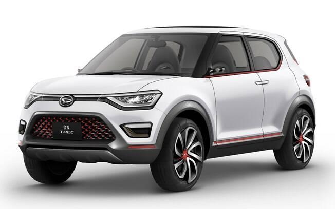 Daihatsu DN Trec: este SUV compacto é de uma das marcas do grupo, mas pode ter sido apenas uma forma de despistar a verdadeira aposta