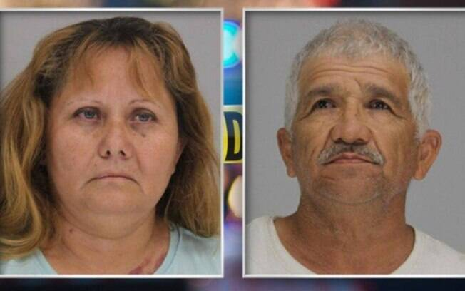 Esmeralda Lira, avó do menino, e Jose Balderas, namorado dela, foram presos por colocar criança de 6 anos em perigo