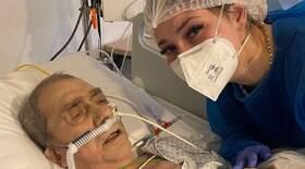 Virgínia é criticada por gravar sobre o pai intubado
