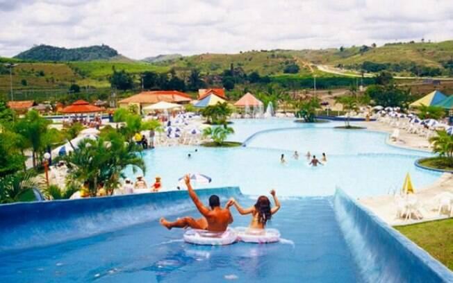 O Moreno Park Aquático conta com atrações para a família inteira