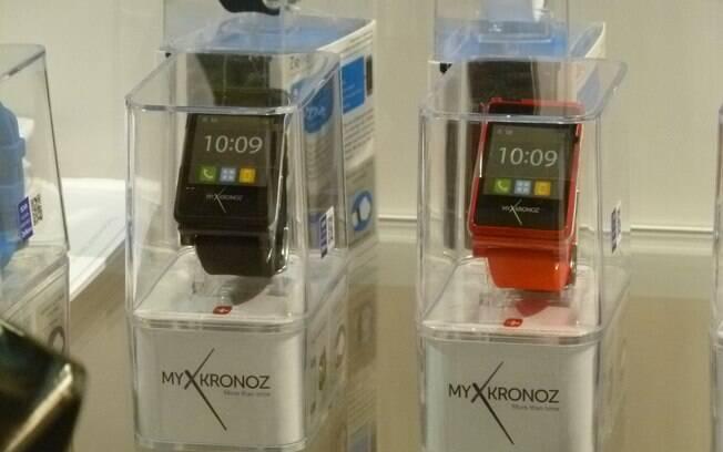 Relógios inteligentes são um dos destaques da CES em 204