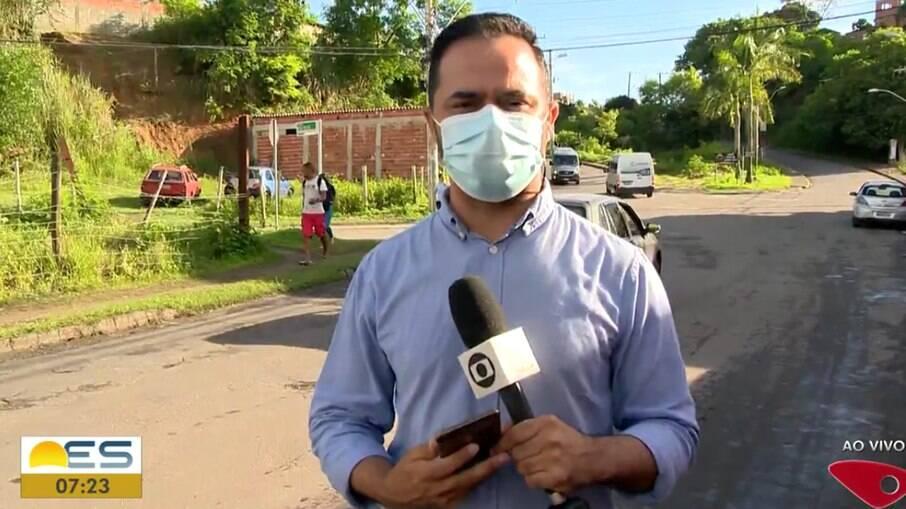 Equipe de reportagem da Globo é ameaçada por bandidos