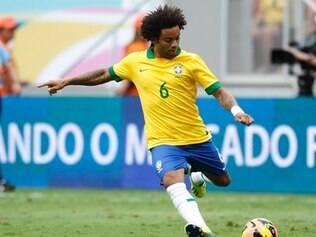 Um dos destaques da seleção, Marcelo não acha que Brasil está no nível da Espanha