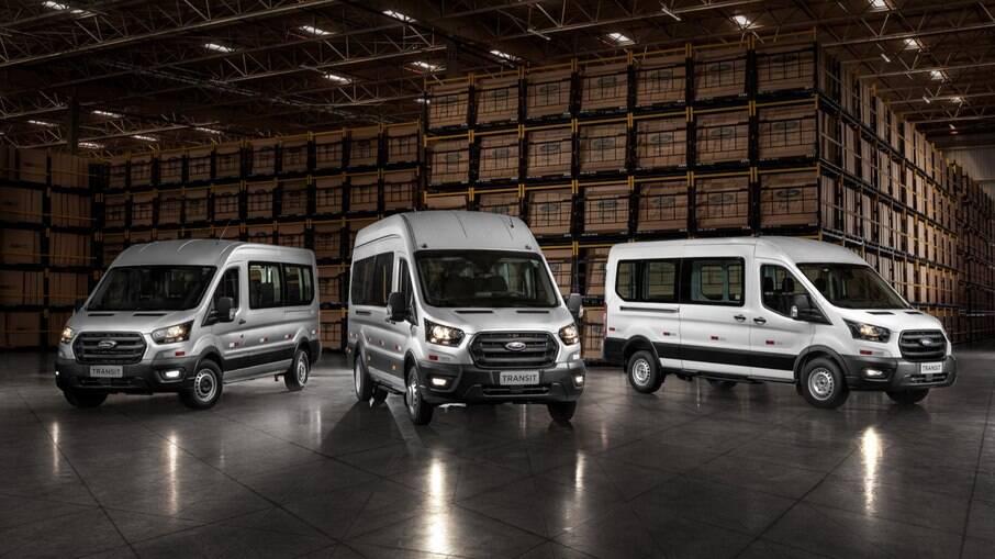 Nova geração da Ford Transit chega ao Brasil no último trimestre desse ano, vinda do Uruguai