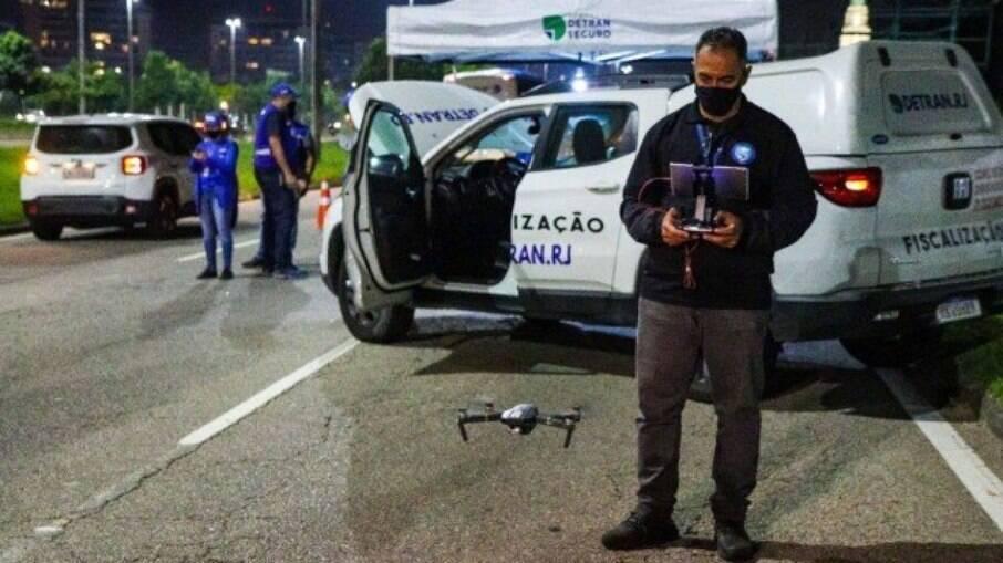 Imagens filmadas por drones podem ser usadas em ação criminal