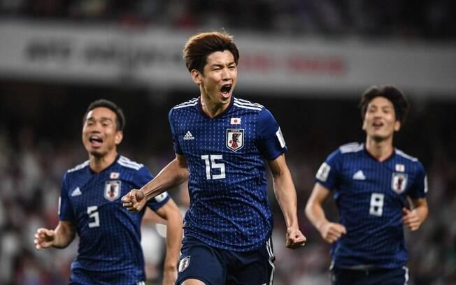 A equipe do Japão fará final contra o Catar na próxima sexta-feira (01)