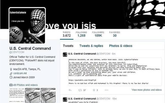 Página inicial do comando: militantes islâmicos tentam aumentar suas atividades no Ocidente
