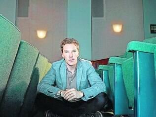 """Mente brilhante. Ator é mais conhecido por seu papel na série de Tv """"Sherlock"""""""