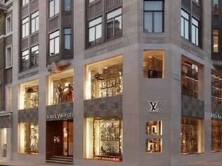 Louis Vuitton: luxo na Bond Street, uma das mais caras de toda a Europa