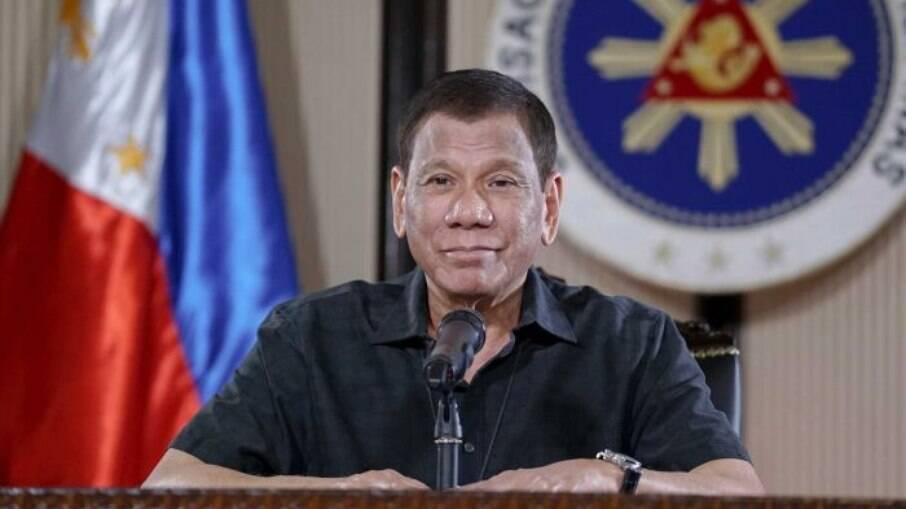 Rodrigo Duterte também reclamou da falta de vacinas ofertadas ao seu país