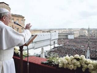 Francisco condenou ainda o tráfico de drogas e o de pessoas