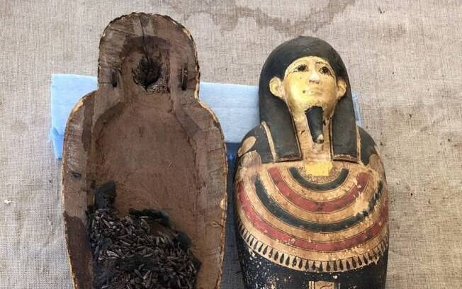 Sarcófagos com mais de 4 mil anos foram encontrados no Egito