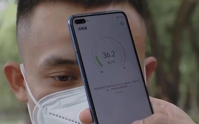 Novo celular da Huawei consegue medir temperatura