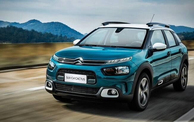 Citröen C4 Cactus estreou este ano e já levou a categoria de dos SUVs entre os melhores carros de 2018