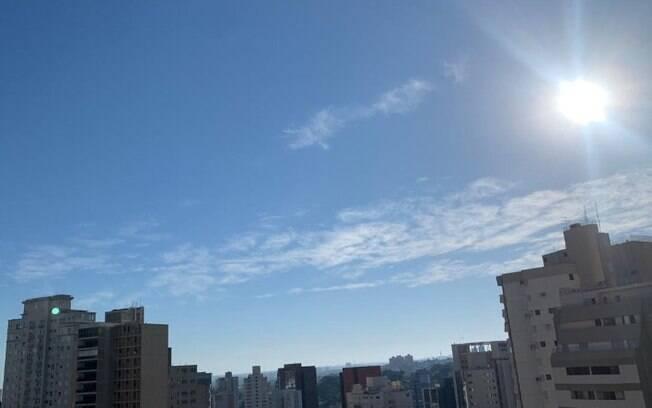 Após onda de frio, domingo será de sol entre nuvens em Campinas