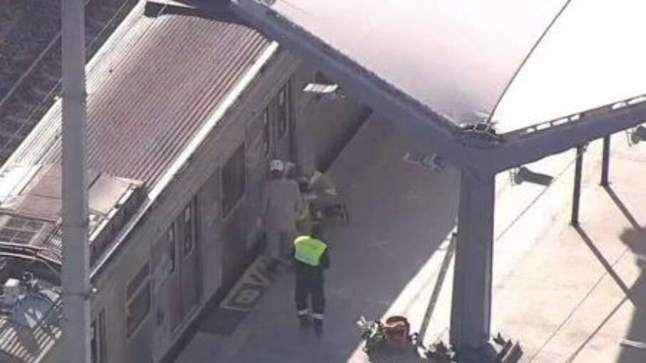 Um homem foi atropelado pelo trem da SuperVia, no RJ
