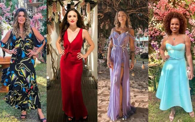 Look das famosas: Flávia Alessandra, Isabelle Drummond, Gabriela Pugliesi e Jeniffer Nascimento; qual você prefere?