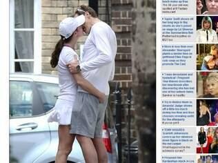 Pippa Midlleton e o namorado na Inglaterra