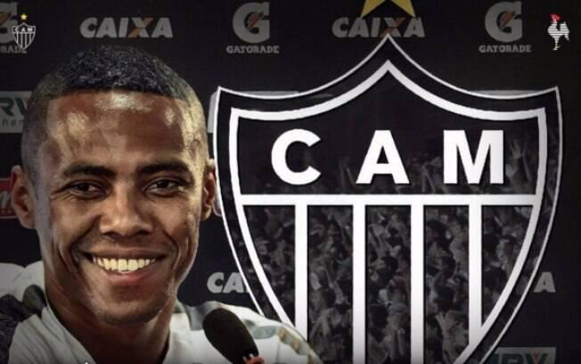 Atlético-MG anunciou a contratação de Elias pelas redes sociais