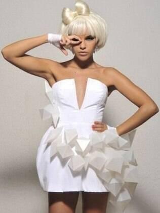 Mariana como Lady Gaga