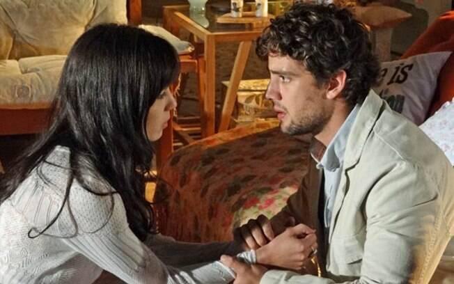 Rodrigo não aceita abrir mão de Manu por causa de Ana