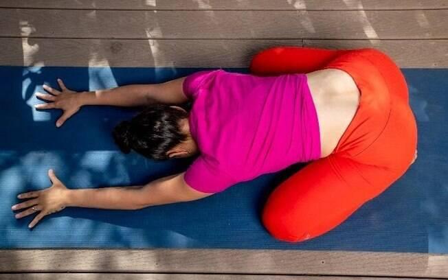 postura de ioga