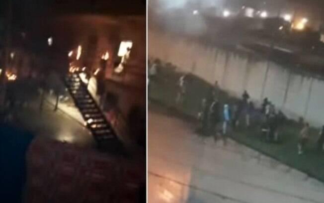 Imagens mostram rebelião em presídio de Bogotá, capital colombiana
