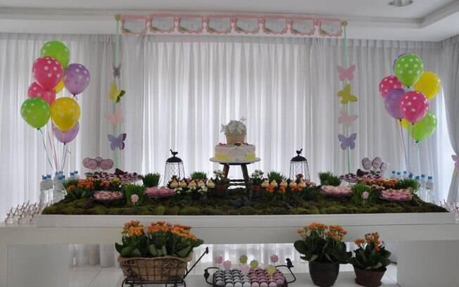 Organizadora dá dicas para fazer uma festa infantil Filhos iG -> Como Decorar Mesa De Aniversario Com Flores