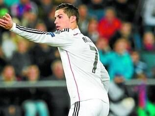 Em branco. Embora o Real Madrid tenha vencido a semifinal por 4 a 0, Cristiano Ronaldo não marcou gols e quer desencantar hoje