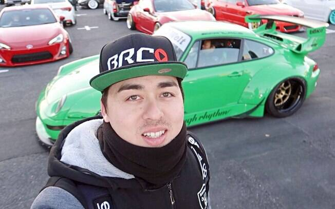 Igor H., do canal BR Club TV, mostra o dia a dia de um brasileiro apaixonado por carros no Japão
